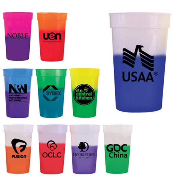 Customized 22 oz Mood Stadium Cup