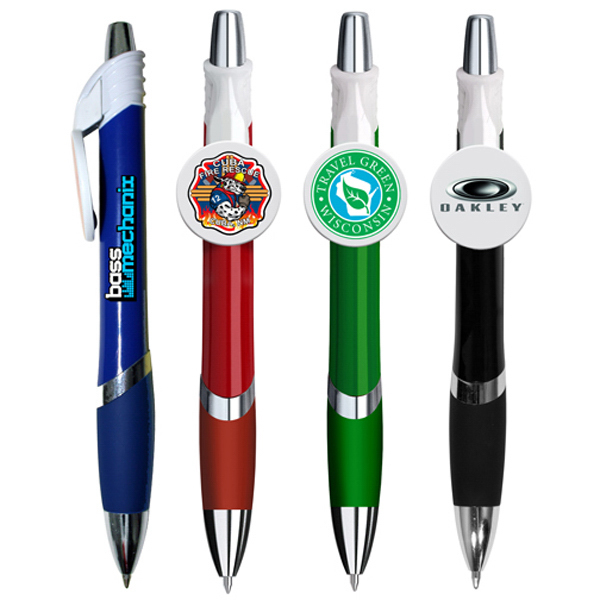 Promotional Marquee Circle Clip Pen