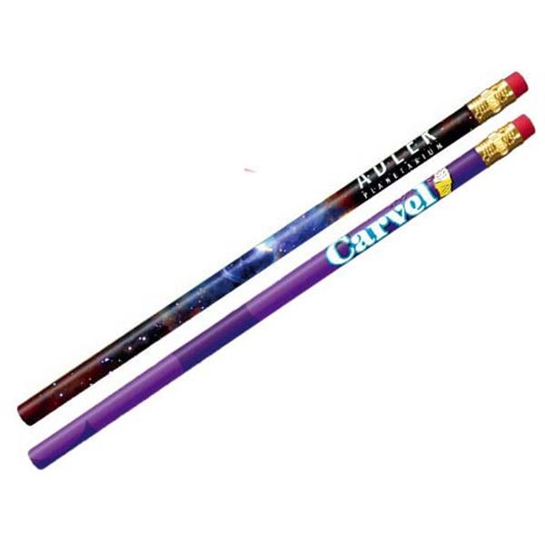 Promotional Thrifty Pencil with Pink Eraser, Full Color Digital