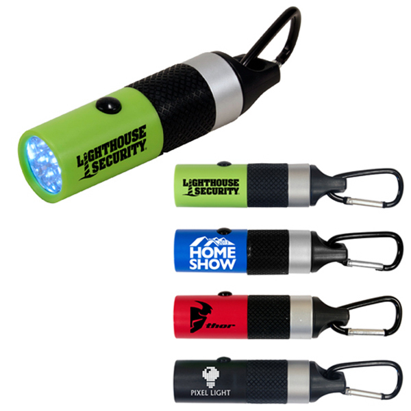 Promotional Carabiner LED flashlight