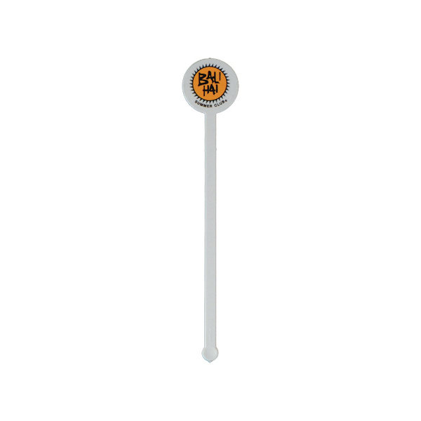 "Promotional 6"" Round Drink Stirrer"