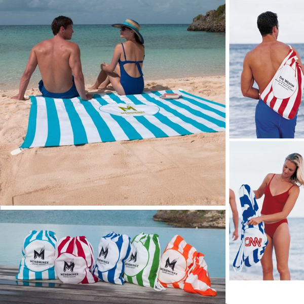 Promotional Beach Blanket Tote (TM)