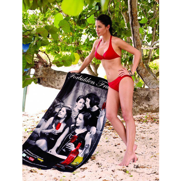 Personalized Custom Fiber Reactive Beach Towel