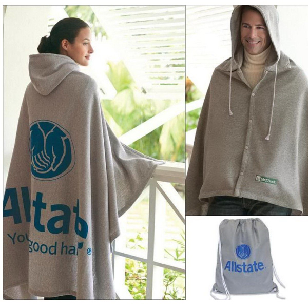 Personalized Game Day Hooded Blanket (TM)