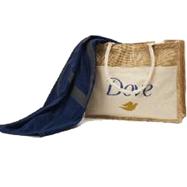Custom Organic & Canvas Tote (TM) and Towel