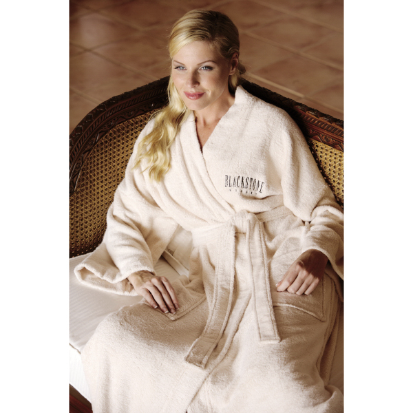 Personalized Turkish Signature (TM) Eco-Friendly Bamboo Robe