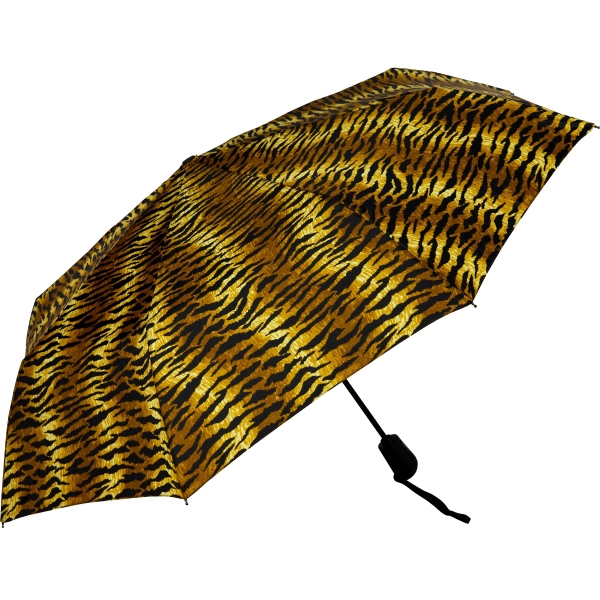 Printed Folding Tiger Stripes Umbrella