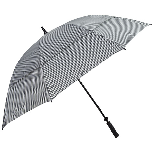 Imprinted Golf Houndstooth Umbrella