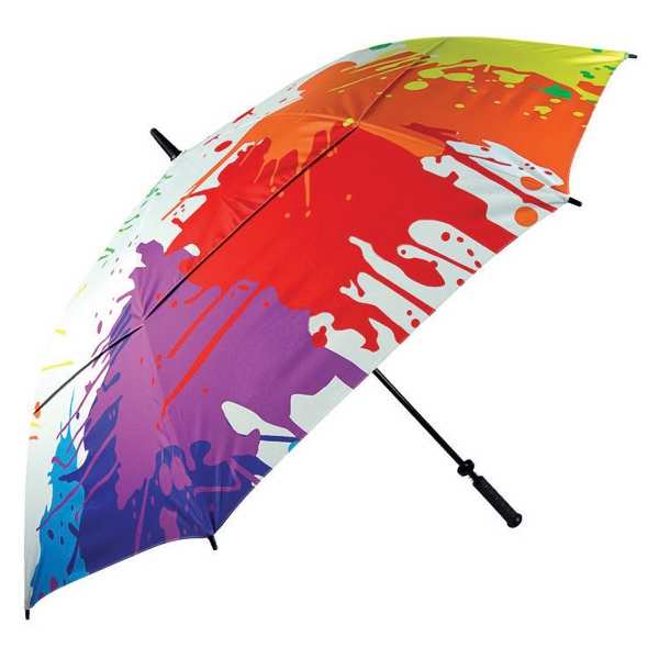 Customized Dropcloth umbrella