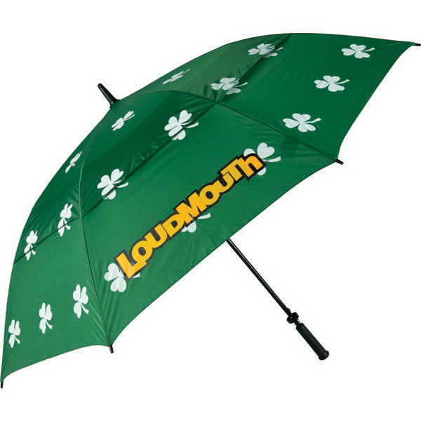 Printed Shamrocks umbrella