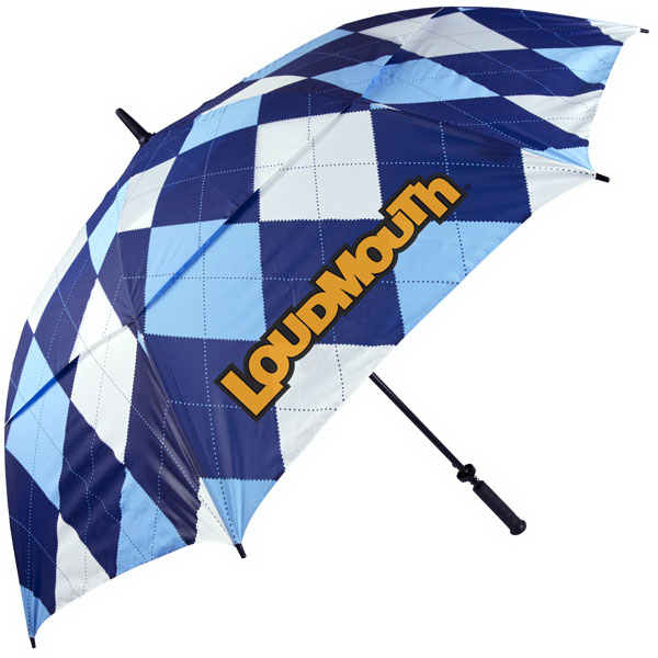 Custom Blue and White umbrella
