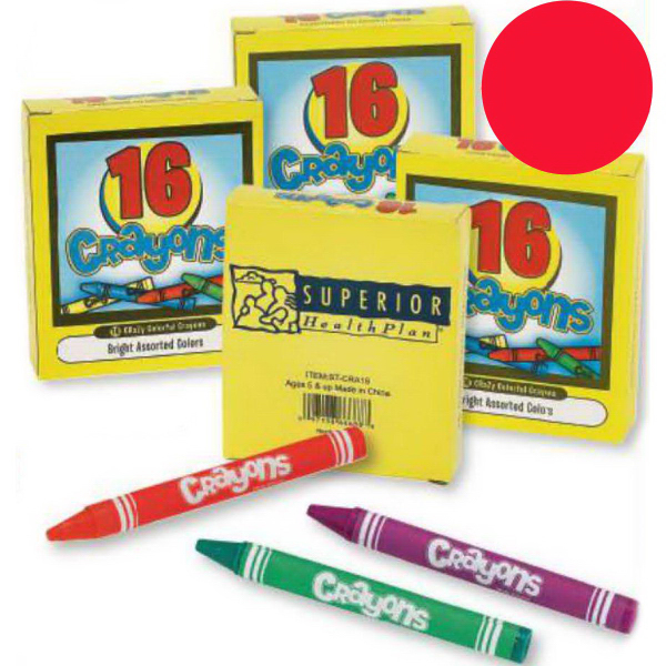 Custom Sixteen Pack of Crayons