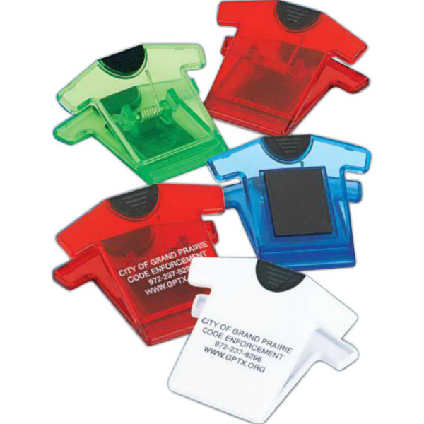Imprinted T-Shirt Magnetic Clip (Imprinted)