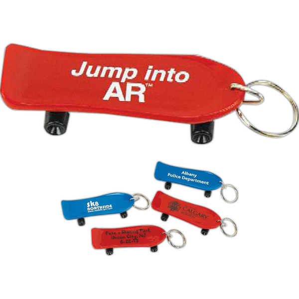 Promotional Skateboard Key Chain (Imprinted)