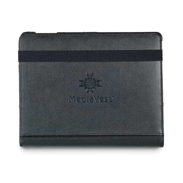 Promotional Swivel Leather iPad (R) Stand with Sleeve
