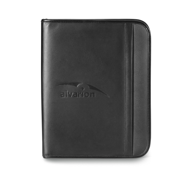 Personalized Noble Leather Tablet Stand E-Padfolio