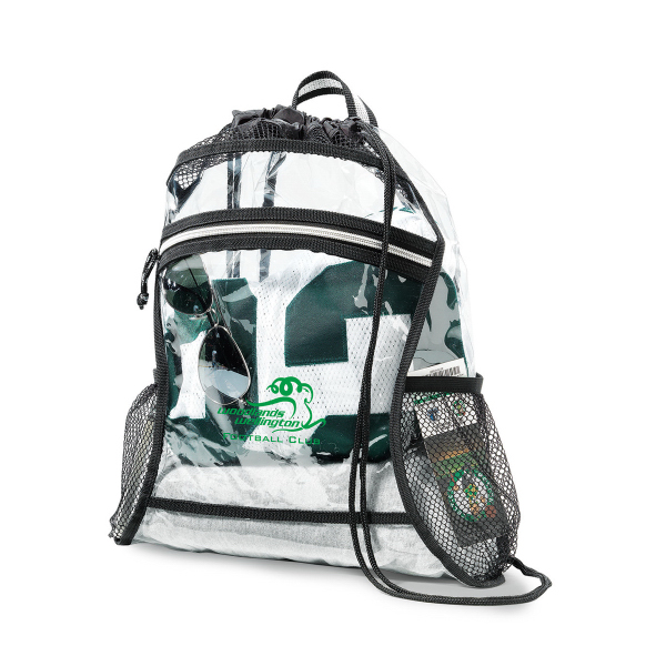 Customized Clear Event Deluxe Cinchpack