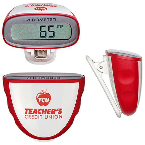 Imprinted Quick-Read Pedometer