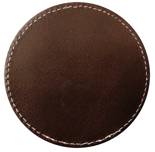 Printed Full-Leather Coaster