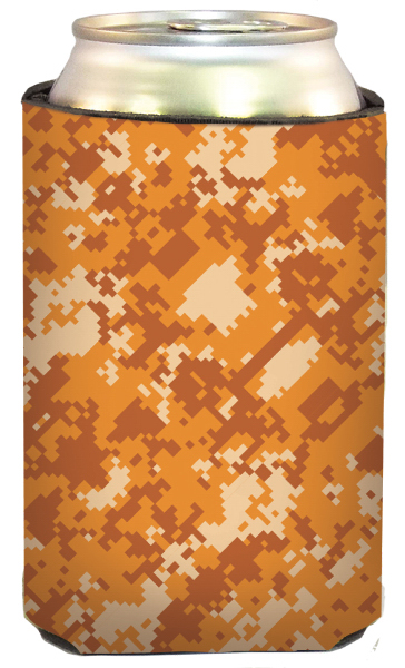 Imprinted Digital Orange Camo Cool-Apsible