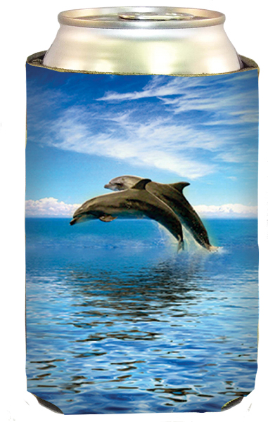 Printed Jumping Dolphin Cool-Apsible