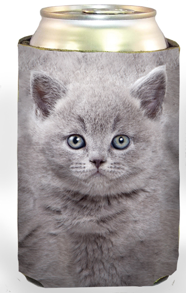 Promotional Gray Kitten Cool-Apsible