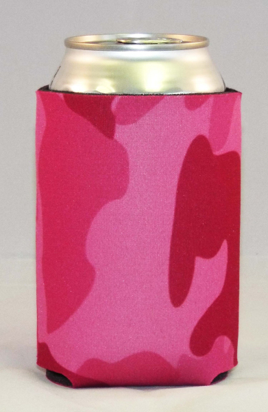 Imprinted Pink Camo Cool-Apsible