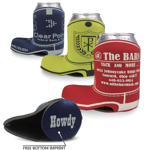 Personalized Boot Cooler