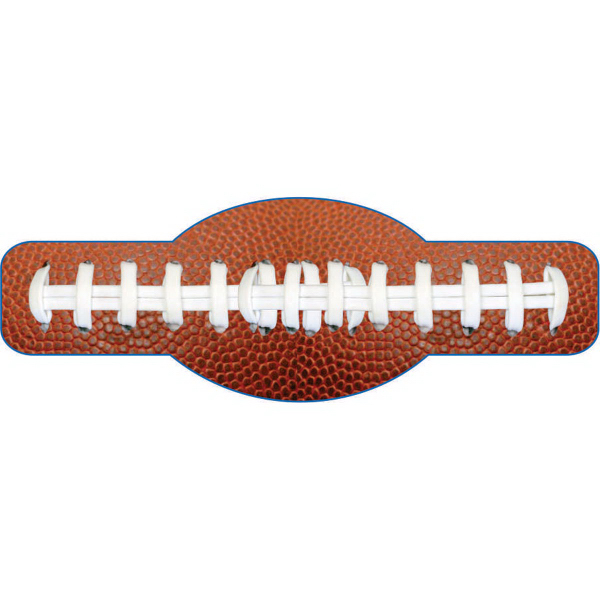 Printed Football Shaped Beverage Wrap