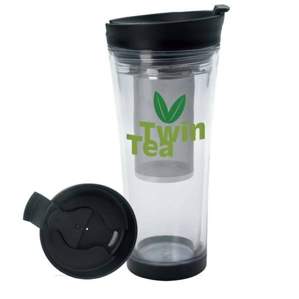 Custom Tea Infusion Tumbler - 16 oz