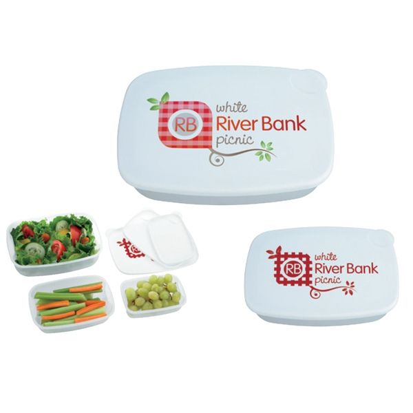Imprinted Food Container 3-Pack