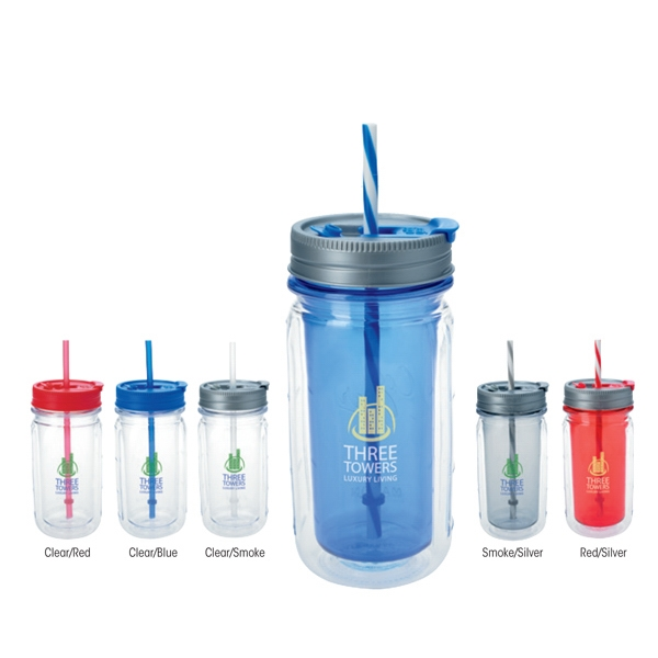 Personalized Cool Gear (TM) Mason Tumbler - 16 oz