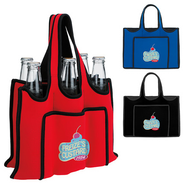 Imprinted 6 Pack Bottle Carrier