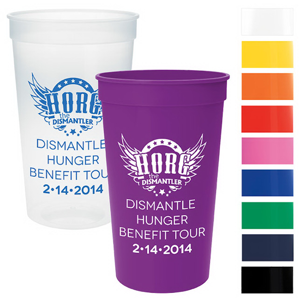 Imprinted Stadium Cup - 22 oz