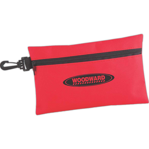 Imprinted Utility Pouch With Clip