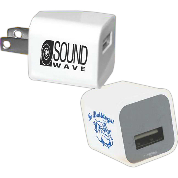 Customized Single Port AC USB Adapter