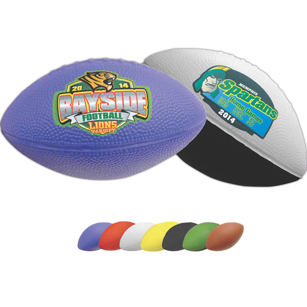 "Printed 11"" Foam Football- Full Color Process"