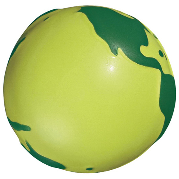 Imprinted Eco-Friendly Foam Stress Reliever Ball