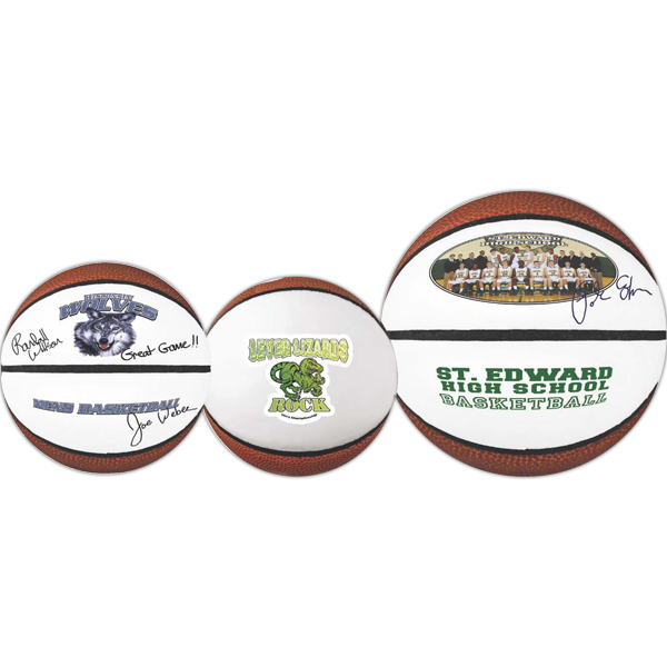 Personalized Full Size Signature Basketball (Full color Process)
