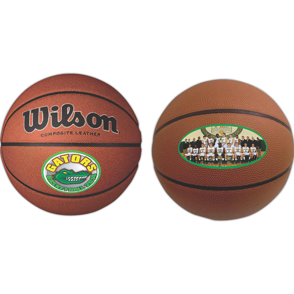 Customized Full Size Synthetic Leather Basketball (Full color Process)