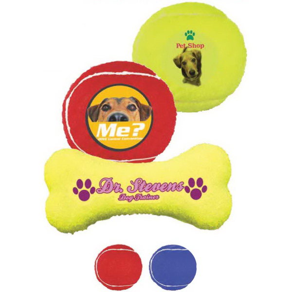 Promotional Tennis Toy Ball- Full Color Process