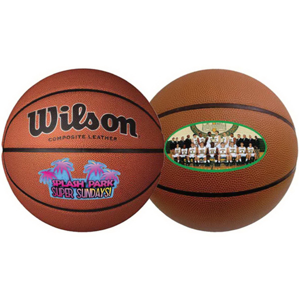 Promotional Wilson (R) Composite Leather Basketball