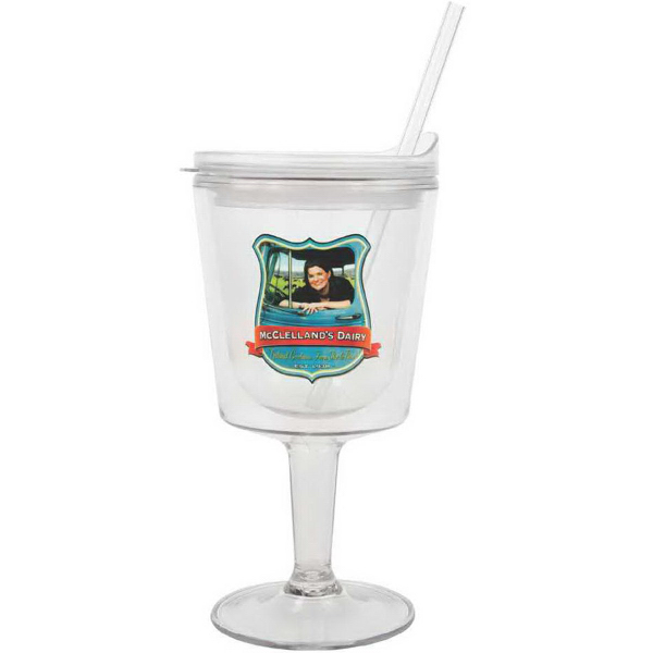 Printed Islander Acrylic Cocktail Cup with VibraPrint