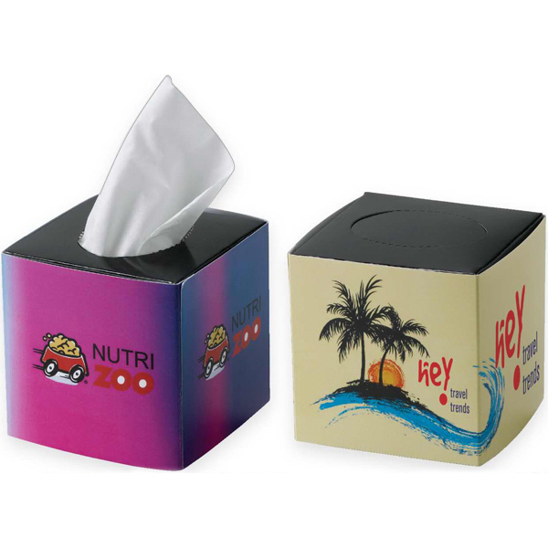 Promotional Mini Cube Tissue Box