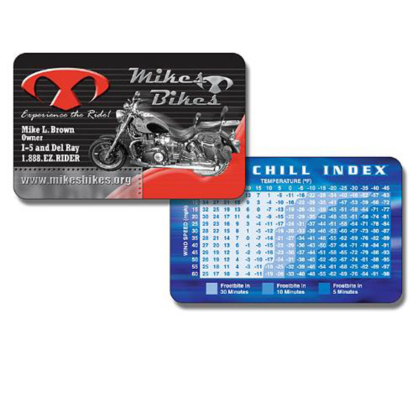 Promotional Laminated Petite Wallet Card - 3.375x2.125 (2-Sided) - 14 pt