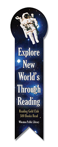 Customized Bookmark - 2.125x7.5 Laminated Round Circle Bookmark