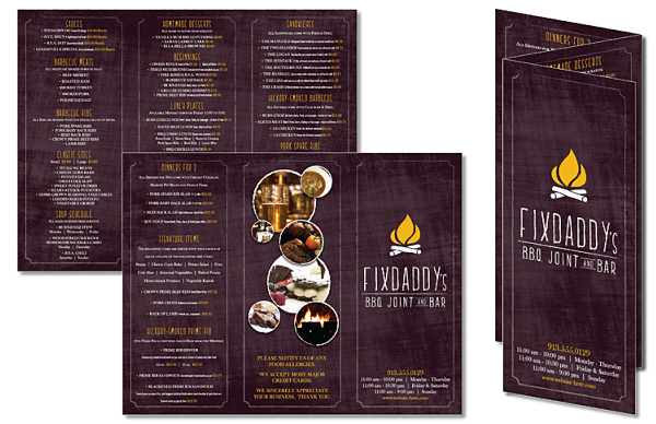 Custom Tri-Fold Flyer Brochure - 8.5x11 - 4 pt. Gloss Text