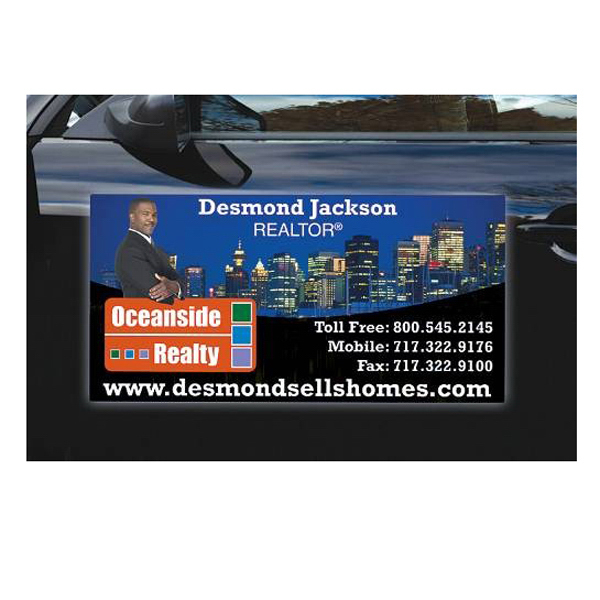 Promotional Magnetic Car/Truck/Auto/Vehicle Sign - 24 x 36 Round Corner