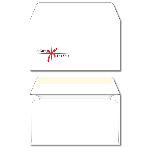"Personalized Envelope - #A7 Printed White 7.25"" x 5.25"""