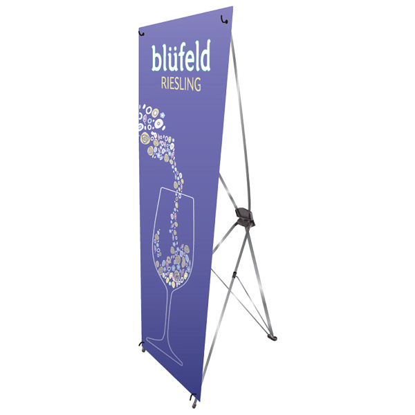 Personalized Small X-Banner Stand RUSH